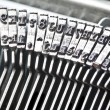 Type bars of typewriter — Stock Photo