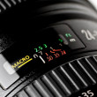 Stock Photo: Lens macro function