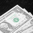 Detail of usa dollars — Stock Photo