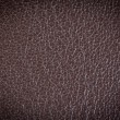 Brown leather texture with blue stitching — Stock Photo #37483463