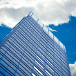 Skyscrapers with clouds — Stock Photo