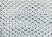 Metallic grid texture — Stock Photo