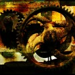 Stock Photo: Grunge gears 1
