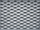 Zinc grid — Stock Photo