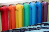 Multicolour radiator — Stock Photo