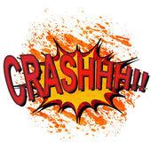 Comic book explosion. — Stock Vector