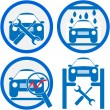 Car service icon - Imagen vectorial
