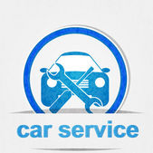 Car service icon — Stock Vector