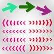 Arrows — Vector de stock #13882503