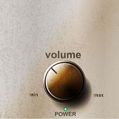 Volume button — Stock Vector