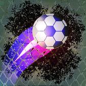 Goal ball, abstract vector art illustration — Stock Vector