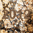Royalty-Free Stock Vektorgrafik: 2012 Happy New Year greeting card or background. Vector illustration