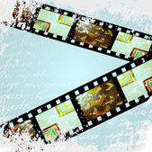 Film. vector background — Stock Vector