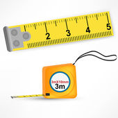 Tape measure — Stock Vector