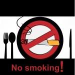 No smoking in dining room — Stock Vector #15651365