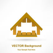Vector 3D Houses — Stock Vector