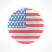 Traditional American Restaurant — Stock Vector