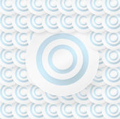 Abstract background with blue circles — Stock Vector