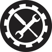 Setting icon — Stock Vector