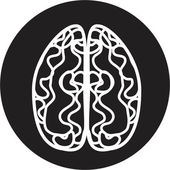 Brain icon — Stock Vector