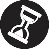 символ песочных часов — Cтоковый вектор