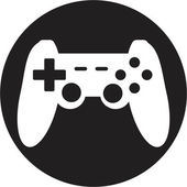 Game joypad icon — Stock Vector