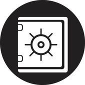 Safe icon — Stock Vector