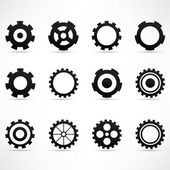 Gears icon — Stockvektor