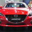 Постер, плакат: NONTHABURI March 25: New Mazda 3 on display at The 35th Bangko