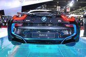NONTHABURI - MARCH 25: NEW BMW I8  on display at The 35th Bangko — Stock Photo