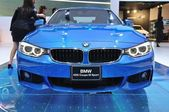 NONTHABURI - MARCH 25:NEW BM 420I coupe M sport on display — Stock Photo