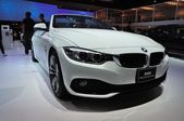 NONTHABURI - MARCH 25:NEW BM 420d convertible sport on display a — Stock Photo