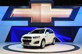 NONTHABURI - March 25: New Chevrolet Captive 2.0 Litre on displa — Stock Photo