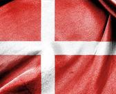National Flag of Denmark — Stock Photo