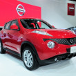 Постер, плакат: NONTHABURI NOVEMBER 28: The new Nissan JUKE Cross over vehic