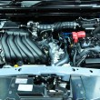 Постер, плакат: NONTHABURI NOVEMBER 28: Engine room of The new Nissan JUKE C