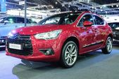 NONTHABURI - NOVEMBER 28: Citroen DS4 on display at The 30th Tha — Stockfoto