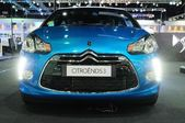 NONTHABURI - NOVEMBER 28: The Citroen DS3 on display at The 30th — Stockfoto