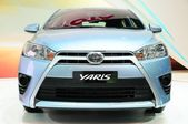 NONTHABURI - NOVEMBER 28: New Toyota Yaris on display at The 30t — Foto Stock