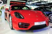NONTHABURI - NOVEMBER 28: Porsche Cayman  on display at The 30th — Foto Stock