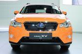 NONTHABURI - NOVEMBER 28: Subaru XV 2.0i, Cross over vehicle,  o — Zdjęcie stockowe