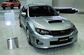 NONTHABURI - NOVEMBER 28:  Subaru WRX STV  on display at The 30t — 图库照片