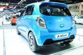 NONTHABURI - NOVEMBER 28:  Suzuki A-wind, Eco concept car, on di — 图库照片