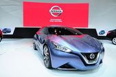 NONTHABURI - NOVEMBER 28: Nissan Friend ME, concept car, on disp — 图库照片