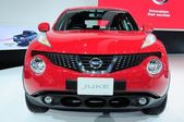 NONTHABURI - NOVEMBER 28:  The new Nissan JUKE, Cross over vehic — Stockfoto
