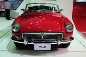 NONTHABURI - NOVEMBER 28: MG B, Classic designed car, on display — Stock Photo