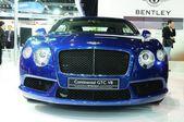 NONTHABURI - NOVEMBER 28: Bentley continental GTC V8, Luxury car — Stok fotoğraf