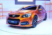 NONTHABURI - NOVEMBER 28: The new Chevrolet SS, sport sedan car, — 图库照片