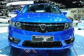 NONTHABURI - NOVEMBER 28: The new Proton Suprima S, City car, on — Foto Stock