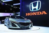 NONTHABURI - NOVEMBER 28: Honda NSX concept, Hybrid sport concep — 图库照片